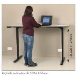 Etabli motorisé hauteur réglable
