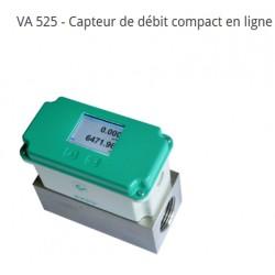 VA 525 Mesure de débit en ligne air comprimé