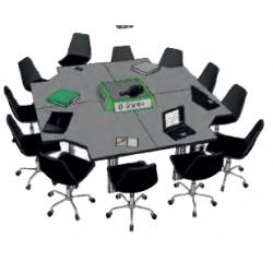 Table de réunion de service