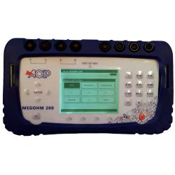 MEGOHM 200 AOIP Megohmètre pour téléphonie
