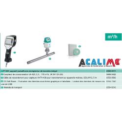 Kit pour enregistrement débit et consommation air comprimé
