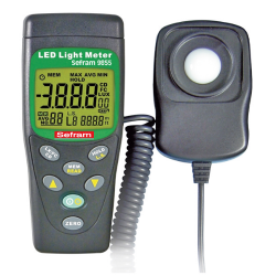 Luxmètre LED SEFRAM 9855