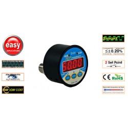 DME AEP Manomètre numérique montage panneau 0.2%