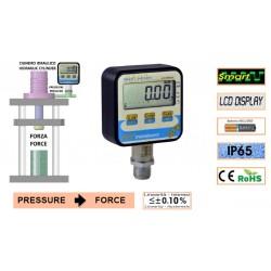 DFP AEP Manomètre numérique pression / force 0.1%