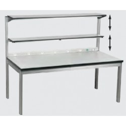 Etabli et table ergonomique léger hauteur réglable