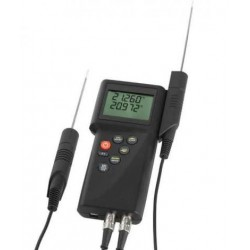 P795 Thermomètre étalon portable resolution 0.001°C