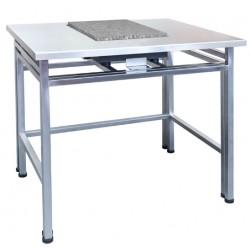 Table pour balance de pesage