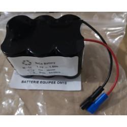 Batterie milliohmmètre OM10 AOIP