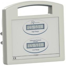 FCS531 Indicateur deltaP portable double échelle