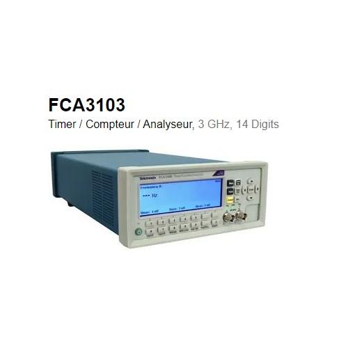 FCA3103 COMPTEUR FREQUENCEMETRE ETALON 3 GHZ