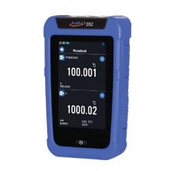 Thermomètre portable ADT282 ADDITEL 2 voies datalogger