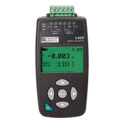 L452 Enregistre 4-20 mA 0/10 V pulses