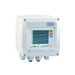 DS 400 Enregistrement et visu débit air comprimé et logiciel